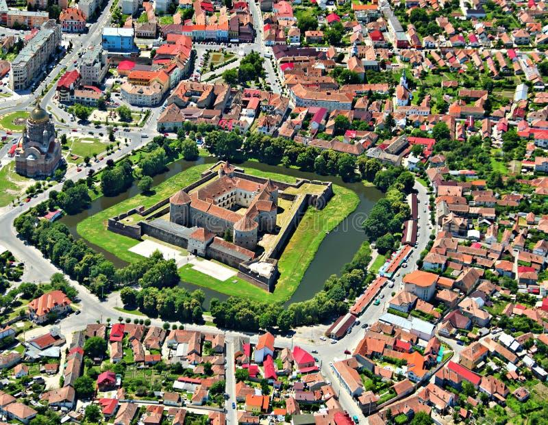 Fortezza di Fagaras fotografia stock libera da diritti