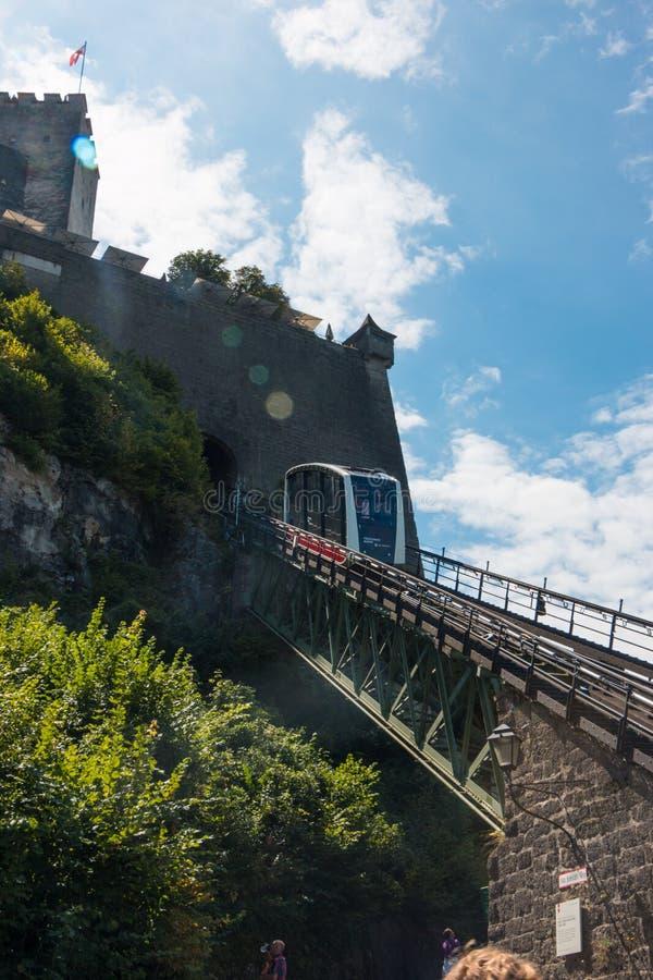 Fortezza di Hohensalzburg immagine stock libera da diritti
