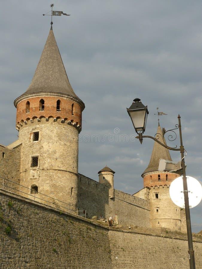 Fortezza 1 di Kamenetz-Podol'sk fotografia stock libera da diritti