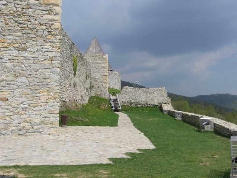 Fortezza di Medvednica fotografie stock
