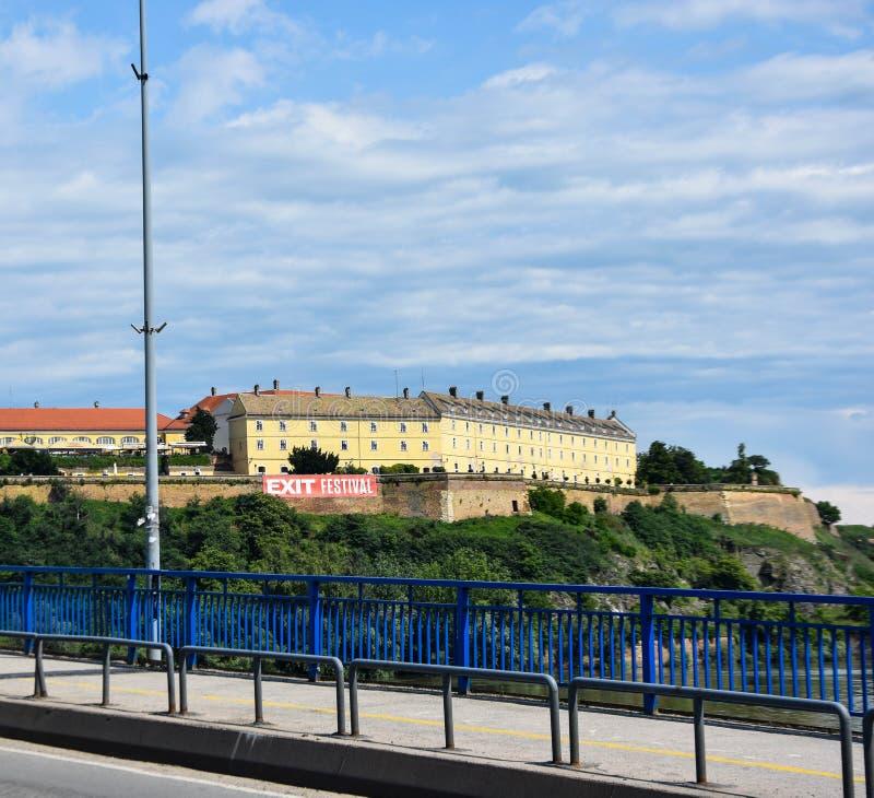 Fortezza di Novi Sad-Petrovaradin fotografia stock