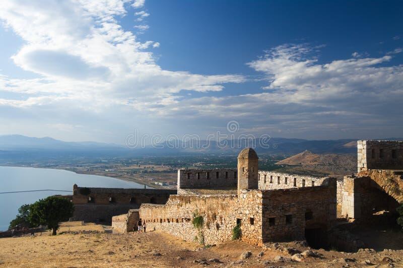 Fortezza di Palamidi immagini stock libere da diritti