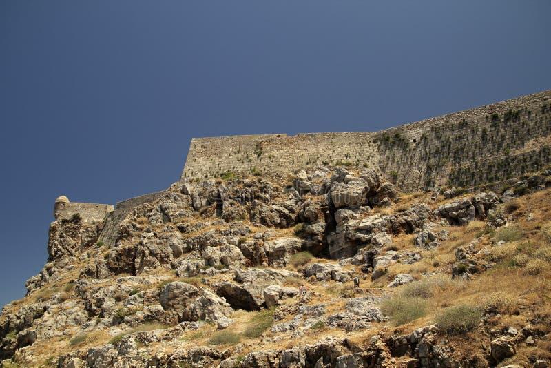 Fortezza di Rethymno fotografie stock libere da diritti