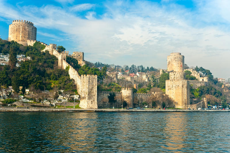 Fortezza di Rumeli, Costantinopoli, Turchia. fotografie stock