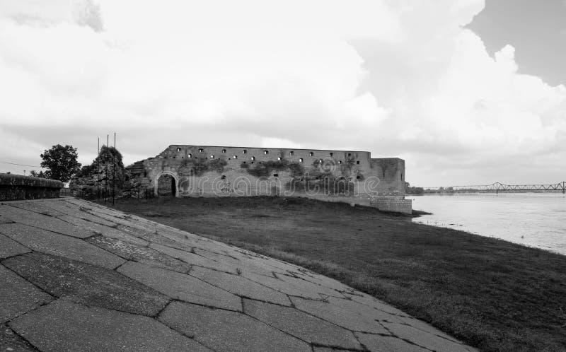Fortezza di Sabac fotografia stock