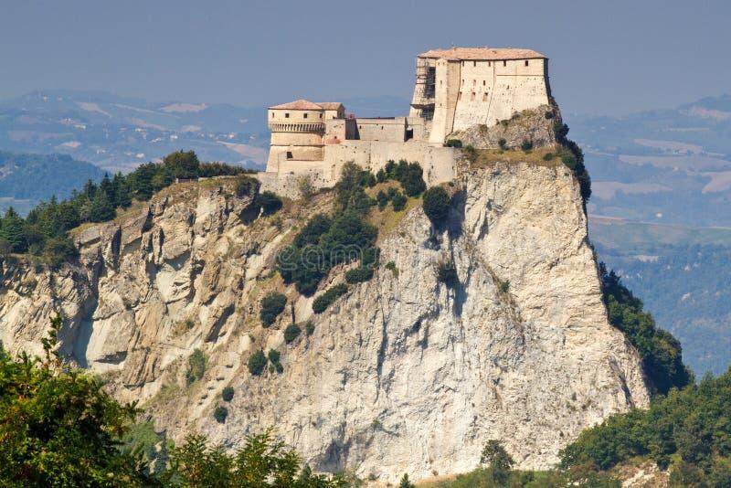 Fortezza di San Leo, Italia fotografia stock libera da diritti