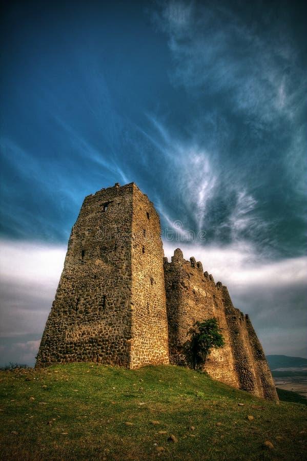 Fortezza di Skhvilo fotografia stock libera da diritti