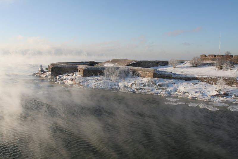 Fortezza di Suomenlinna fotografia stock