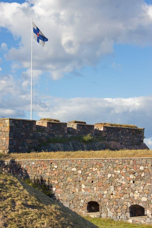 Fortezza di Suomenlinna fotografie stock