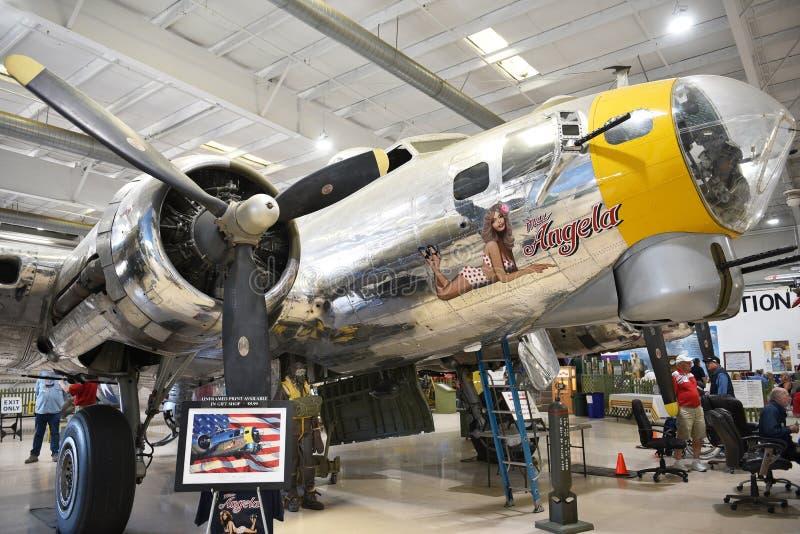 Fortezza di volo B-17 fotografie stock libere da diritti