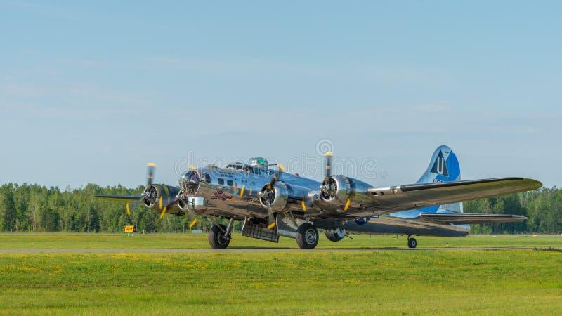 Fortezza di volo B-17 fotografia stock libera da diritti