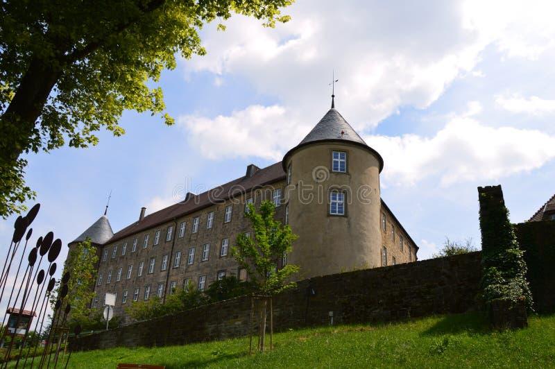 Fortezza di Waldenburg, dal lato immagini stock