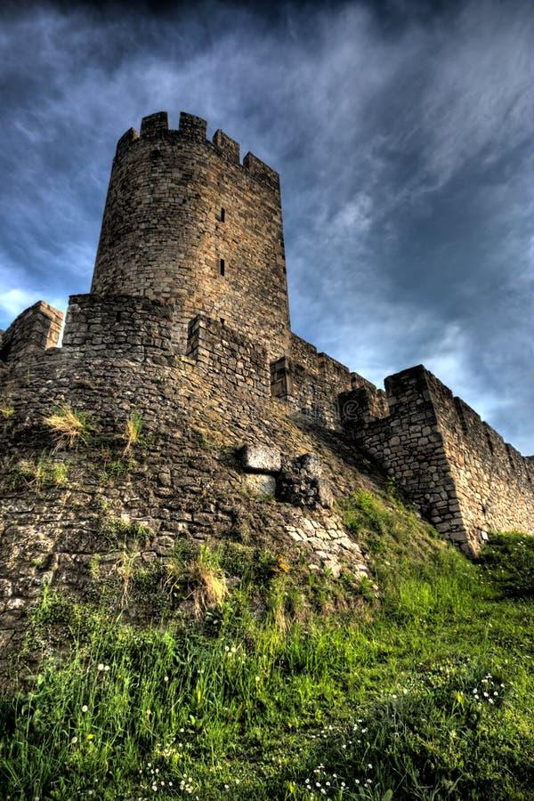 Fortezza - Kalemegdan a Belgrado, Serbia immagini stock libere da diritti