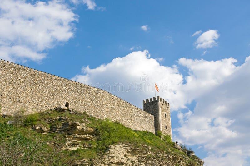 Fortezza Macedonia immagini stock libere da diritti
