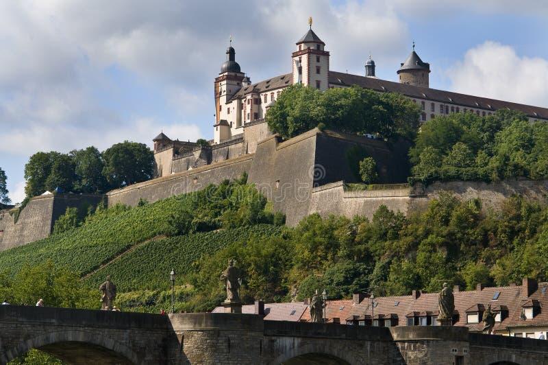 Fortezza Marienberg immagine stock
