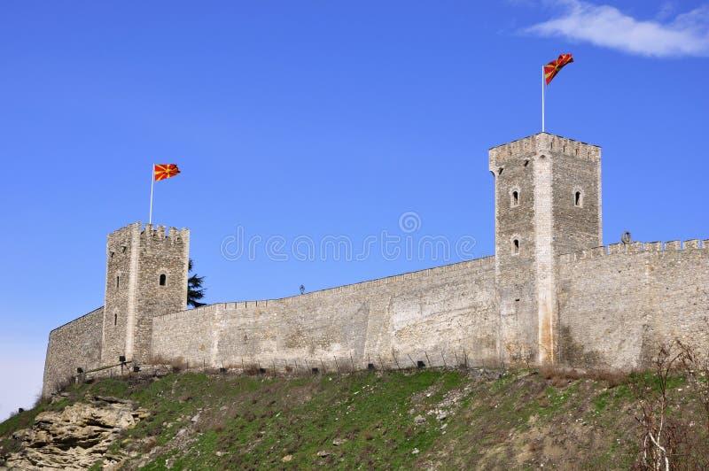 Fortezza medioevale fotografie stock libere da diritti