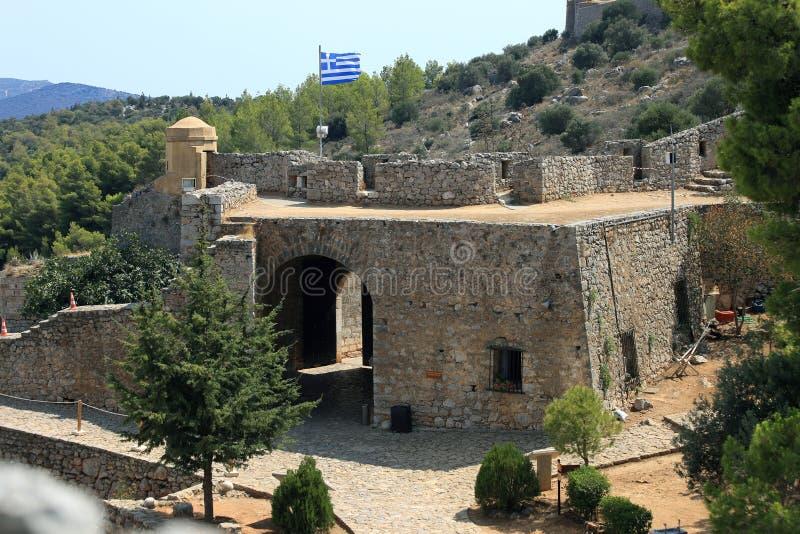 Fortezza in Nauplia, Grecia di Palamidi immagine stock libera da diritti