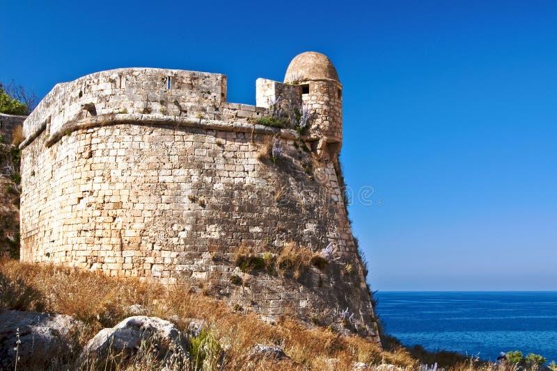 Fortezza in Rethymno royalty-vrije stock fotografie