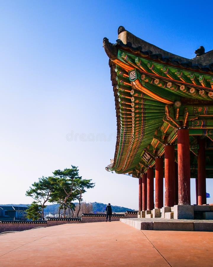 Fortezza Seoul, Corea di Hwaseong fotografia stock