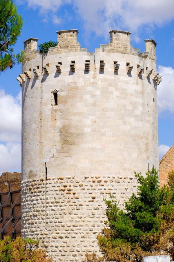 Fortezza Svevo Angioina της επαρχίας Lucera - του Foggia - κανονισμός Apulia στοκ φωτογραφίες με δικαίωμα ελεύθερης χρήσης
