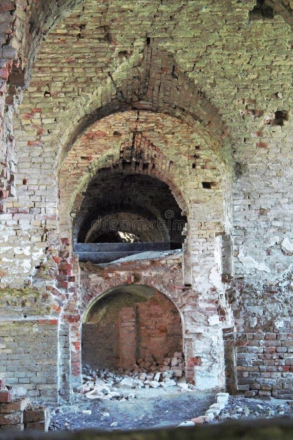 Fortezza vecchia di visita immagine stock libera da diritti