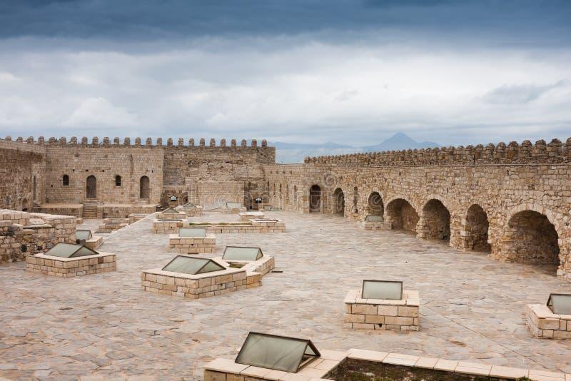 Fortezza Veneziana Di Koules Immagine Stock
