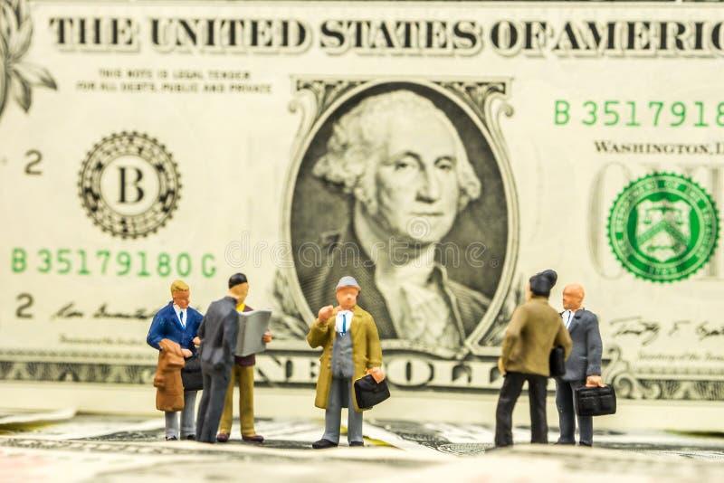 Fortfarande ändrande affärs-/finansläge royaltyfri bild