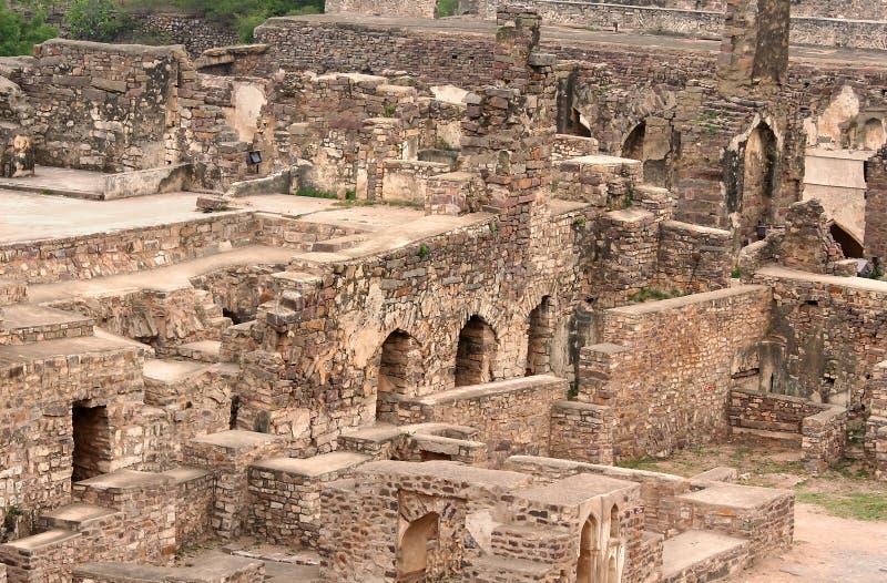 fortgolkonda royaltyfri bild