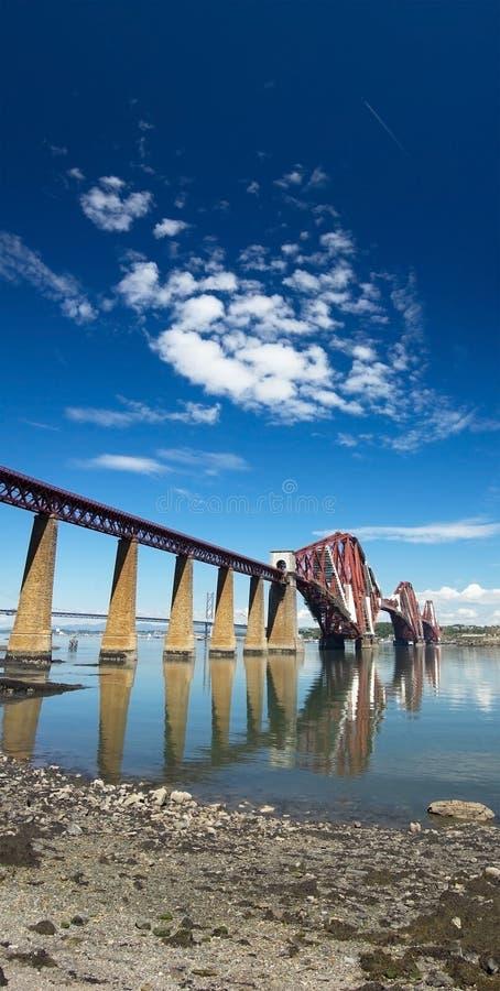 Download Forth Bridge stock photo. Image of cloud, structure, landscape - 12626668