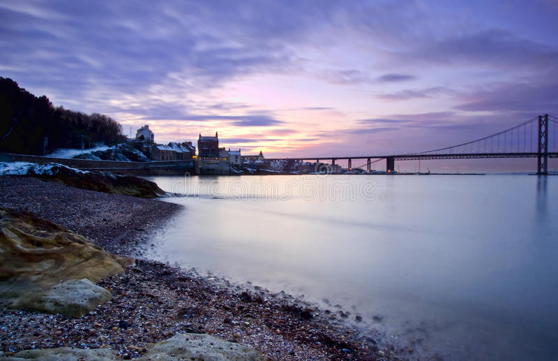 Download Forth Bridges, Edinburgh stock image. Image of shearer - 12976145