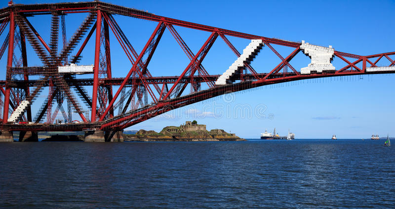 Download Forth Rail Bridge stock image. Image of queensferry, historic - 21281395