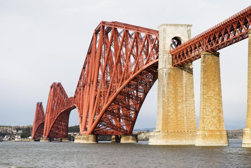 Forth rail bridge stock images