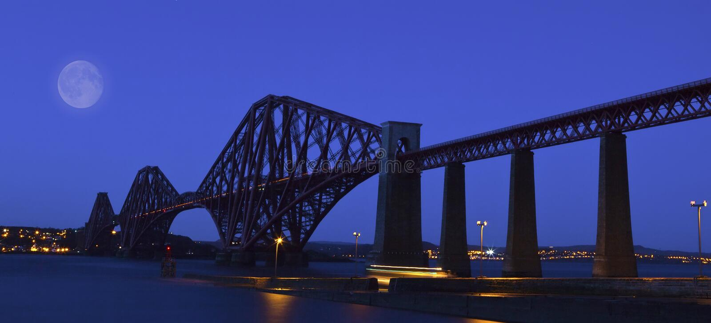 The Forth Rail Bridge , Scotland royalty free stock images