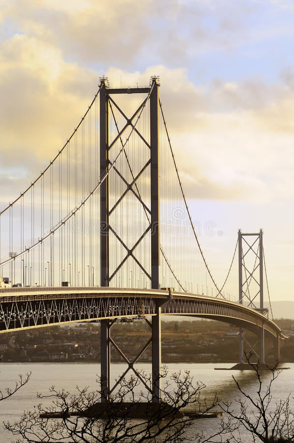 Download The Forth Road Bridge stock image. Image of firth, nobody - 16842787