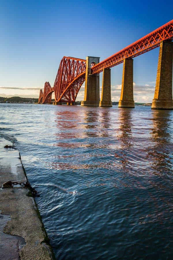 The Forth Road Bridge royalty free stock photos