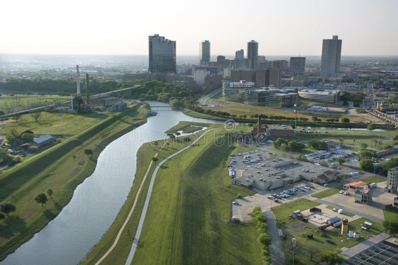 Forth Worth, le Texas. images libres de droits