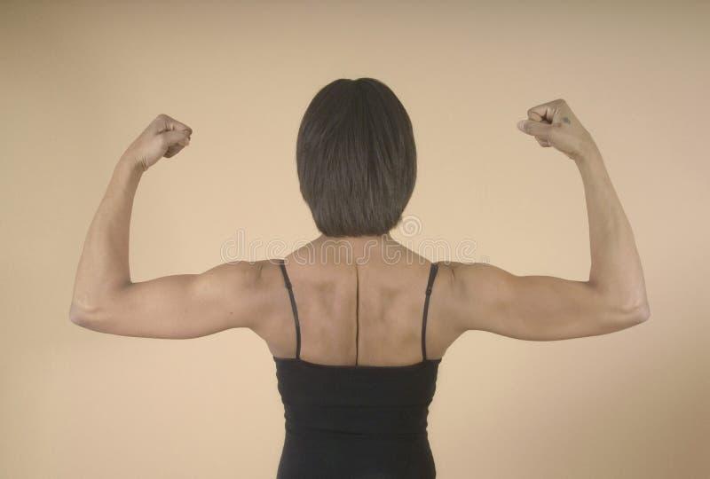 Download Forti spalle e braccia immagine stock. Immagine di misura - 205563
