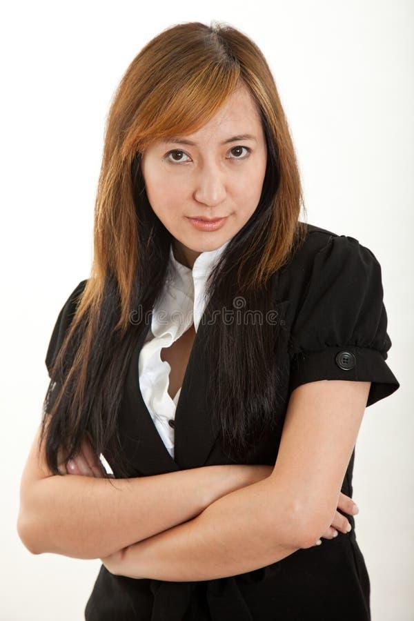 Forties Atrakcyjna Chińska Kobieta Zdjęcie Royalty Free
