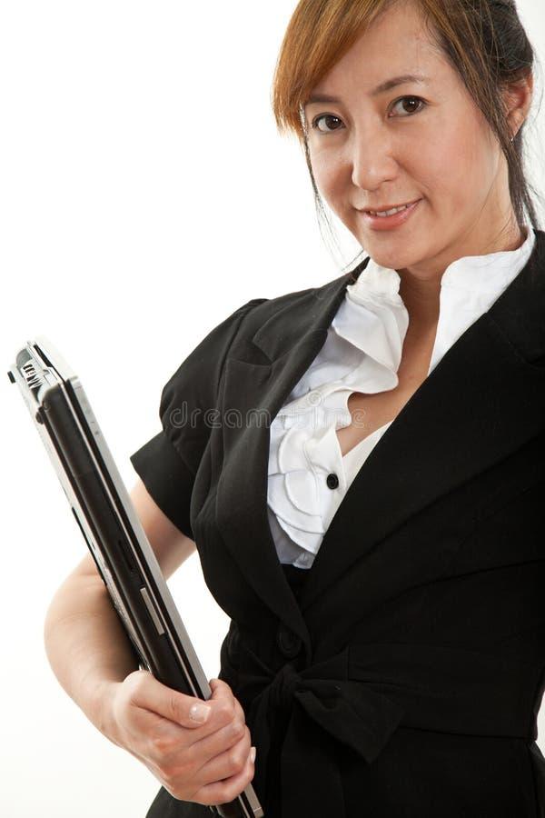 Download Forties Atrakcyjny Chiński Bizneswoman Zdjęcie Stock - Obraz: 20019296
