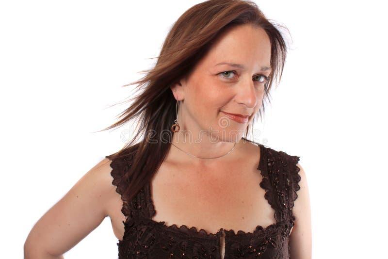 Download Forties jej ładna kobieta zdjęcie stock. Obraz złożonej z zaufanie - 16361672
