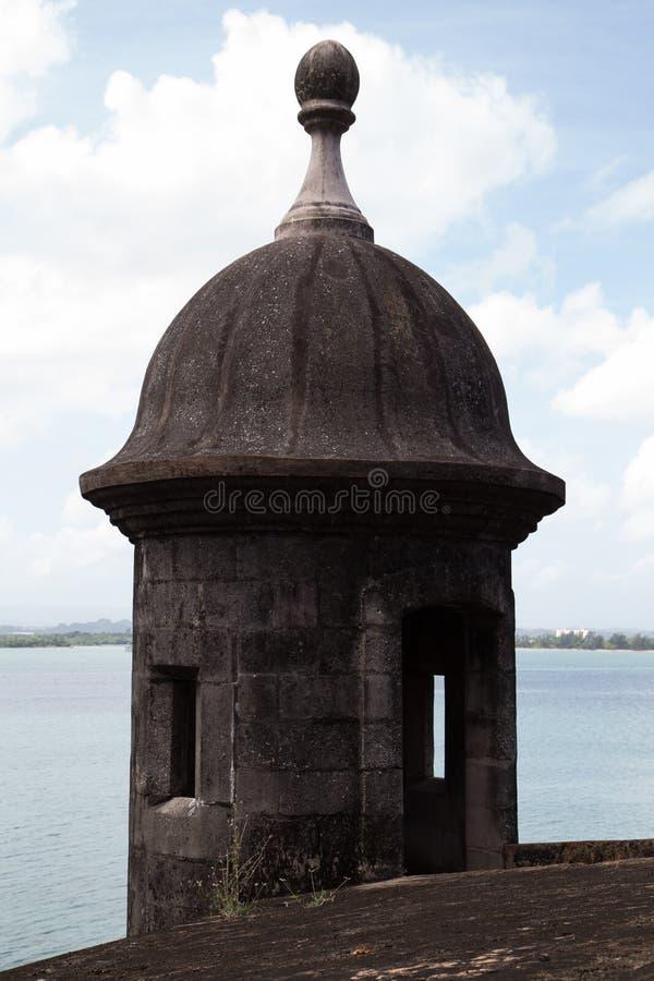 A fortificação de San Juan velho imagens de stock royalty free
