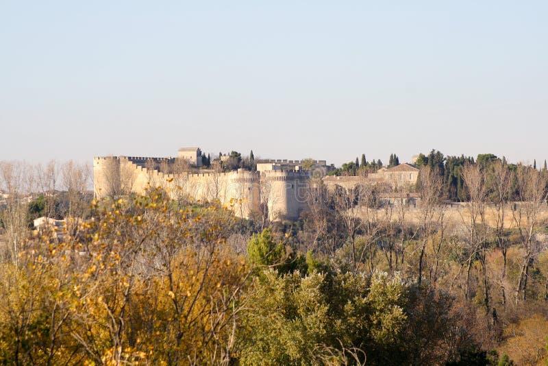 Fortificação em Avignon fotos de stock royalty free