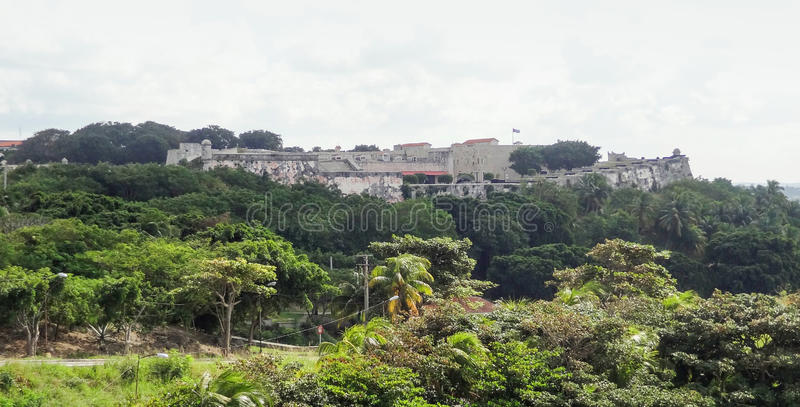 Fortification au Cuba photo libre de droits