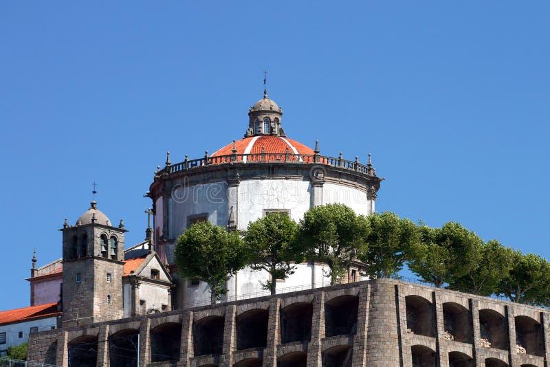 Fortification da igreja com abóbada grande foto de stock royalty free
