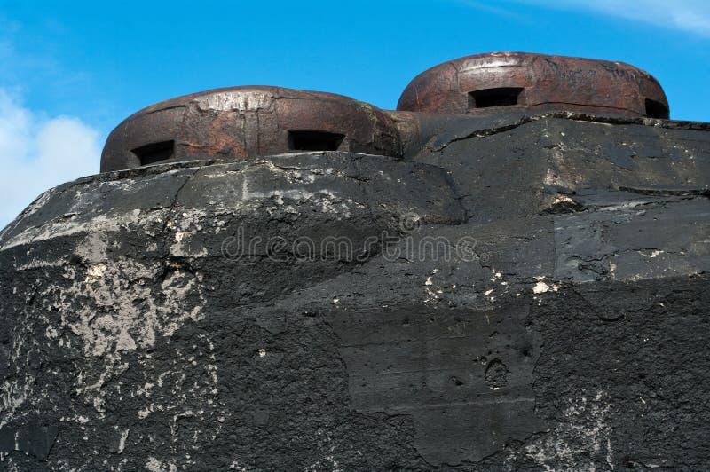 Fortification de Nazi Germany photos libres de droits