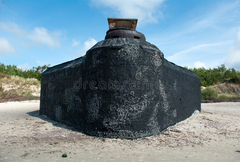 Fortification de Nazi Germany images stock