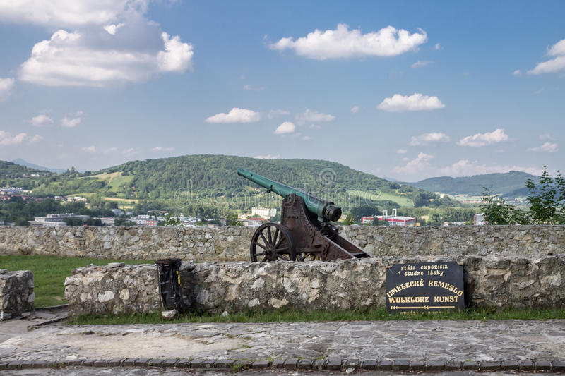 Download Trencin Castle Slovakia editorial photography. Image of walls - 39503272