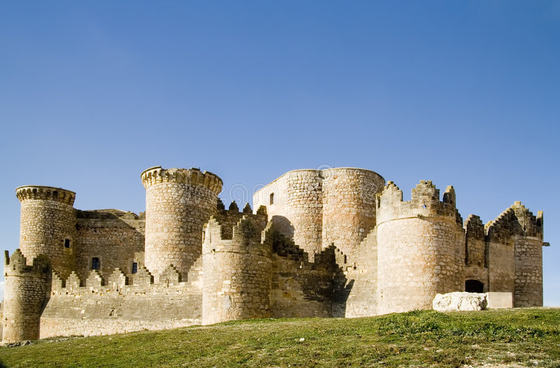 Fortification medieval imagem de stock royalty free