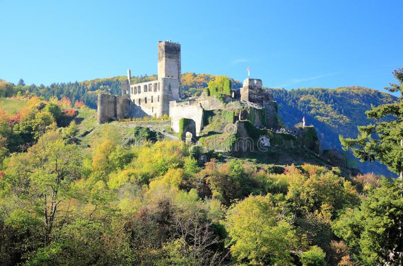 Fortification Metternich. Beilstein ... the best place on the Moselle River Mosel. Rhineland-Palatinate, Germany. Beilstein Germany is a tiny town sitting along royalty free stock images