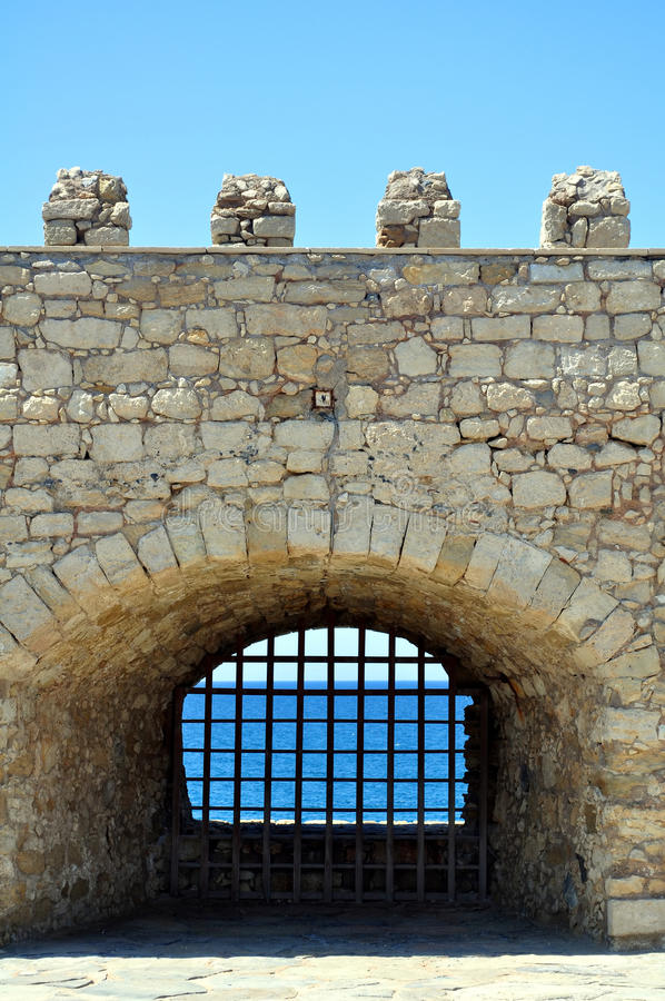 Download Fortification: Venetian Castle (Koules) Stock Photo - Image: 11217644